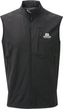 Mountain Equipment Frontier Vest Herrer, black S 2020 Softshellveste