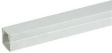 Rehau kabelkanal LE 15/15 mm i perlegrå - 2 meter