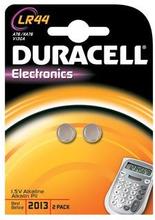 Duracell knapcellebatteri LR44 - pakke á 2 stk.