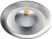 SG Uniled 35 indbygningsspot 7W LED i børstet stål