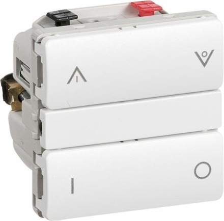 LK IHC Wireless lysdæmper kombi 250W UNI 1 modul i hvid