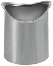 VMZINC tudstykke med Ø100 mm nedløb til tagrende nr. 12 halvrund
