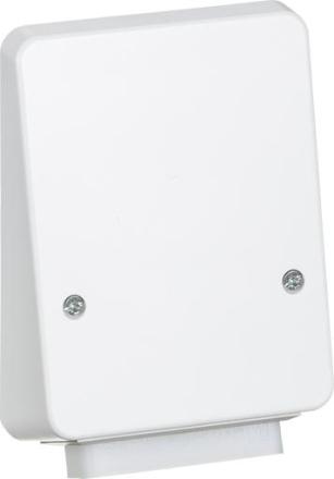 LK stikkontakt uden afbryder 3P+N+J 440V i hvid