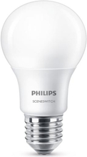 Philips SceneSwitch 3-i-1 LED 8W (60W) E27 Mat Warmglow dæmpbar