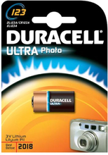 Duracell Photo Ultra 123 Lithium Batteri - 1 stk.