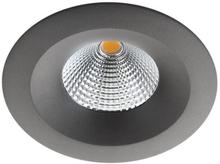 SG Uniled 35 indbygningsspot 7W LED i grafit