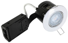 Nordtronic Easy Install 63 indbygningsspot 5W 2700K LED GU10 i hvid