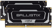 Ballistix - DDR4 - 32 GB: 2 x 16 GB - SO DIMM 260-pin - 3200 MHz / PC4-25600 - CL16 - 1.35 V - ej buffrad - icke ECC - svart