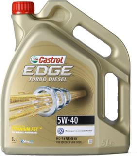 Castrol EDGE Titanium FST Turbo Diesel 5W-40 5 Liter Burk