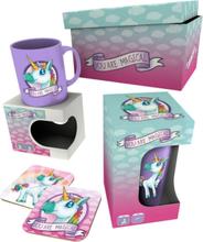 Unicorn Gaveboks You are Magical Kopp, Glass, Coaster