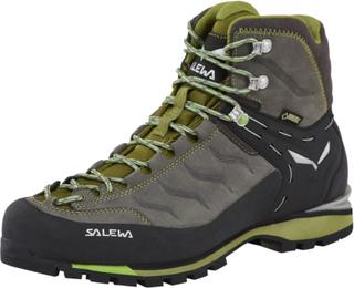 SALEWA Rapace GTX Alpine Shoes Herre pewter/emerald UK 10,5 | EU 45 2018 Alpine fjellstøvler