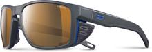Julbo Shield Cameleon Sunglasses dark gray/black/blue-brown 2019 Sportglasögon