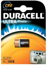 Duracell Photo Ultra CR2 Lithium Batteri - 1 stk.
