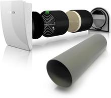 Bosch Vent 2000 D Decentral varmegenvinding Ø162 mm med ind- og udvendig skærm