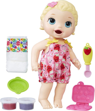 Baby Alive - Snackin' Lily - Blonde Hair