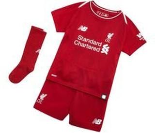 Liverpool Hemmatröja 2018/19 Mini-Kit Barn