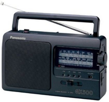 Transistorradio Panasonic RF-3500E9-K Svart