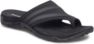 Terran Ari Wrap Black Flade Sandaler Sort Merrell