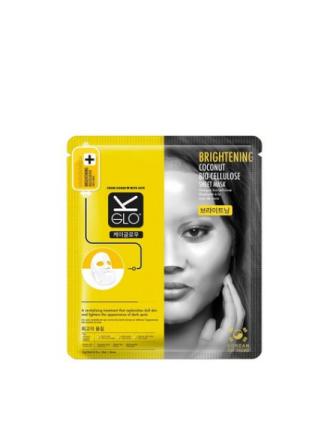 Ansiktsmasker - Transparent K-Glo Brightening Coconut Bio-Cellulose Sheet Mask