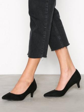 Low Heel - Svart NLY Shoes Low Heel Pump