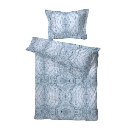 Borås Cotton Påslakan / Bäddset Lancaster Satin 2-dels Blå 150x210cm
