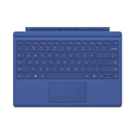 Microsoft Surface Pro 4 Type Cover Pohjoismainen - Sininen