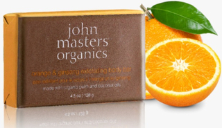 John Masters Orange & Ginseng Exfoliating Body Bar, 128g.