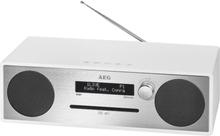 AEG DAB + musikcenter MC 4469 hvid 20 W
