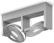 Philips Spotlight Particon 2x4,5 W grå 531524816
