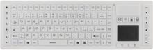 Deltaco Tb-507 Silikon Ip65 Touchpad Langaton Näppäimistö Valkoinen