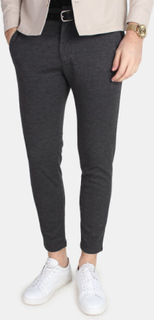 Minimum Kayser Pants Dark Grey Mel.
