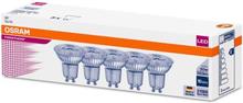 Osram Parathom LED - PAR16 - 4,3 watt - 2700K - 36° - GU10 - Pakke á 5 stk