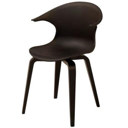 Hjalmer spisebordsstol sort - Udgået model (OU3002)