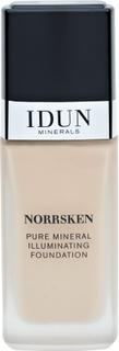 IDUN Minerals Norrsken Mineral Illuminating Foundation Saga, 30ml.