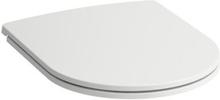 Laufen Pro Slim toiletsæde m/soft close & quick-release, hvid