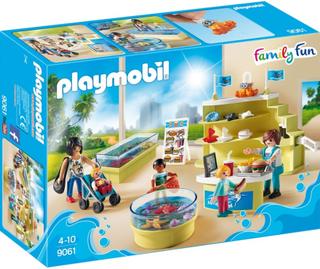 Playmobil9061, Akvariebutik
