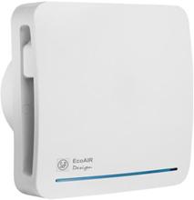 Thermex Ecoair Ventilator med hygrostat Ø100 mm, Hvid