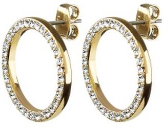 Dyrberg/Kern Roselle Crystal Gold One size