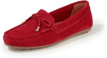 Loafers oxmocka från Peter Hahn röd