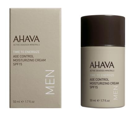 AHAVA MEN Age Control Moisturizing Cream Broad Spectrum SPF 15 50 ml