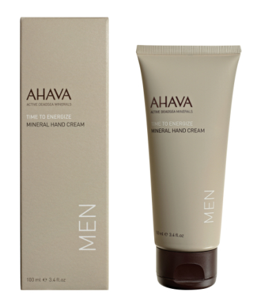 AHAVA MEN Mineral Hand Cream 100 ml tube
