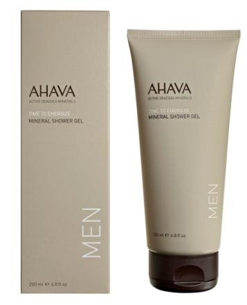 AHAVA MEN Mineral Shower Gel 200ml tube