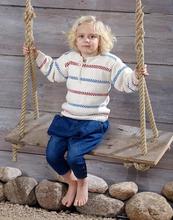 Stickmönster - Stickade fiskartröjor för barn, dam och herr