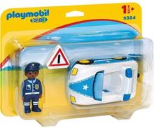 Playmobil 1 2 3 9384 - Playmobil 1.2.3 - Polisbil - Ny för 2019