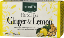 Fredsted Herbal Tea Ginger & Lemon 20 breve