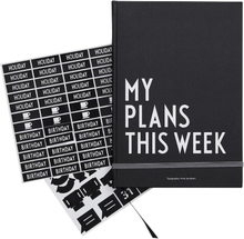 Design Letters, My Plans This Week Kalenteri