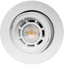 SG Jupiter udendørs indbygningsspot LED 6,5W GU10 i hvid