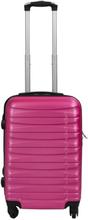 Kabinekuffert - Pink hardcase kuffert - Eksklusiv rejsekuffert