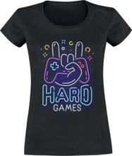 Hard Games - -T-skjorte - svart