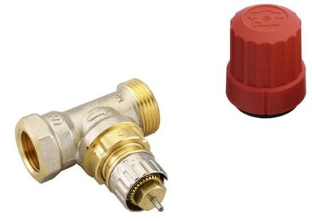Danfoss RA-N-ventil R20 rak med förinställning